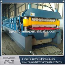 Machine de formage de rouleaux à double couche de qualité supérieure de 840/900 fabriquée en Chine