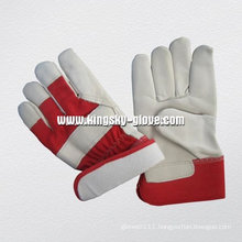 Cow Grain Palm Fully Foam Lined Winter Working Glove