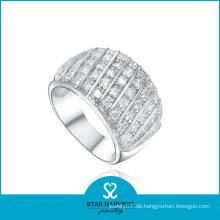 Modischer silberner Schmucksache-Finger-Ring (SH-R0075-2)