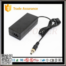 12Volt 5Amp 60W AC/DC Adapter Charger Power Supply W/O USA Grounded Cord