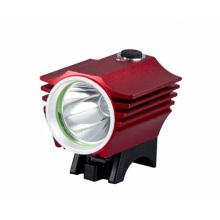Um farol da luz da bicicleta do diodo emissor de luz do CREE