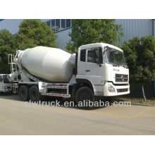 Euro III o Euro IV 12m3 camión mezclador de hormigón móvil para la venta, 6x4 camión mezclador de hormigón para la venta
