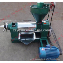 6YL-80 soybean oil press machine with 5.5kw motor 100kg/h