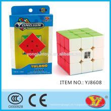 YJ YongJun Yulong Speed Cube juguetes educativos Inglés de embalaje para la promoción