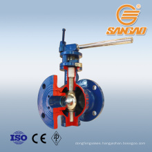flange connection semi sphere ball valve 10mm pn16 ball valve dn20 semi ball valve