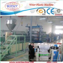 Línea de extrusión de bandas de borde de PVC con impresión de tres colores