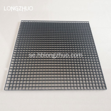 White Mesh Styrene Egg Crate Louvers