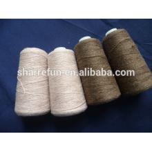 varios colores de la fábrica varios 2 / 24NM 100% de lana para tejer