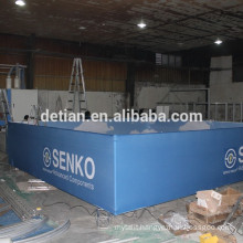 custom professional hanging banner ceiling sign made by Shanghai Detian Display