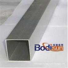 Tube droit en aluminium, profilé, extrudé, extrusion, radiateur