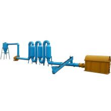 Machine de séchage à la sécherie de sciure à bois pour poêle au four à vendre