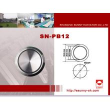 Kone-Aufzug-Druckknopf (SN-PB12)