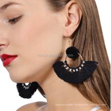 Wholesale Pom Tassel Earrings For Women Jewellery