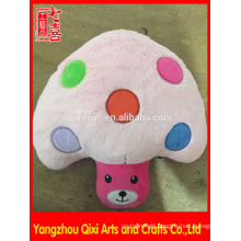 Lovely plush mushroom shape hot water bag cover