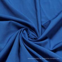 Twill Rayon Viskose und Polyester Blend Stoff