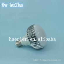 Haute qualité haute puissance e27 ampoules LED d'éclairage 9w ampoule led 9w 810lm