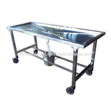 stainless steel Morgue Dissecting Table