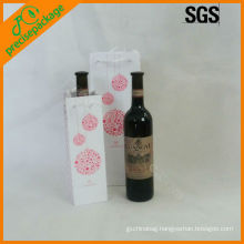 decorative printable paper wine bottle bag