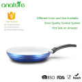 Blue Pressed Nonstick Induction Bottom Frypan