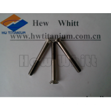 high strength nitriding Gr5 titanium flat bolt M8