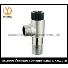 Messing-Eckventil mit Filterkern und Kunststoffgriff (YS2027)