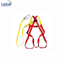 Aliança em aço D-ring Full Body Safety Belt Harness