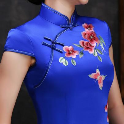 Hand Embroidered cheongsam