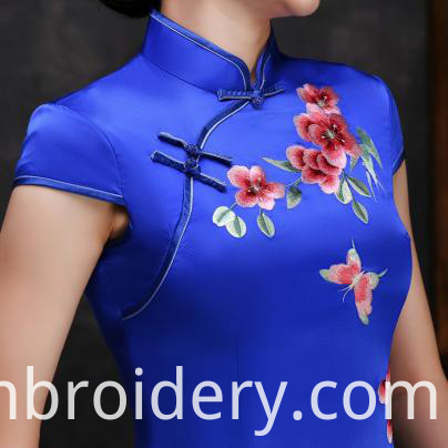 Hand Embroidered cheongsam