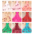 TINGYU Multi Color For Choose Dubai Women Cotton Long Hijab Wholesale