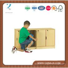 Casier empilable pour enfants avec 4 compartiments sécurisés