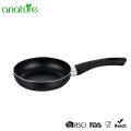Comfortable Aluminum Black Round Bakelite Handle Fry Pan