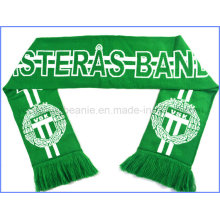 New Style Custom Football Scarf with High Quality Fan Scarf