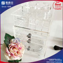 Atacado Spinning Acrylic Lipstick Holder