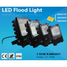 Luz de inundação solar alta do diodo emissor de luz de Bridgelux Dimmable DMX do lúmen de 50 watts
