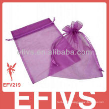 2013 fashionable cheap jeweled organza bags