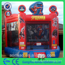 inflatable spider man bouncy castle / inflatable bouncer / inflatable jumping bouncer