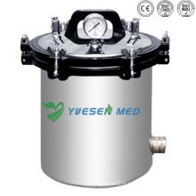 Ysmj-02 Medical Hospital Essence stérilisée à vapeur à pression portable en acier inoxydable