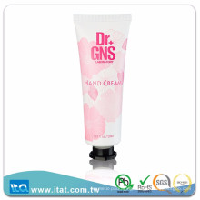 top selling free sample hand cream white offset printing gas barrier tube