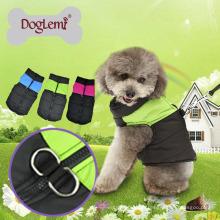 Roupa do cão do inverno Misture cores roupa confortável do animal de estimação