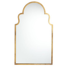 Hot Sales Metal Antique Gold Framed Wall Mirror for Fashion Home Decoration