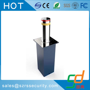 Retractable Removable Steel Pipe Rising Bollards