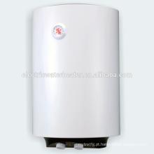 Tanque de vidro cilíndrico revestido capacidade aquecedor de água quente