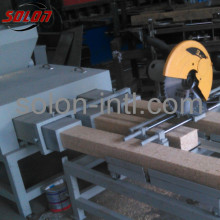 Wooden sawdust block for pallet