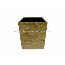 Коробка для мусора Yellow capiz ручной работы в Китае