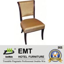 Chaise de chaise d'hôtel en bois en chaise de banquet (EMT-HC127)