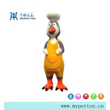 Хорошее качество латексной игрушки Cook-Cock Pet для собак