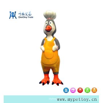 Jouet pour animaux de compagnie Cook-Cock en latex de bonne qualité pour chien