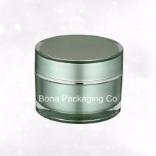 Tarro plástico de acrílico cosmético de alta calidad 60g para la crema facial