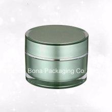 Bocal en plastique acrylique de haute qualité de 60g pour la crème faciale