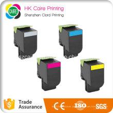 Cartucho de tonalizador da cor compatível para Lexmark CS310 CS410 CS510